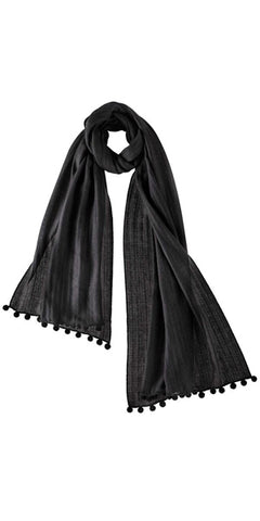 Cashmere Cape in Black