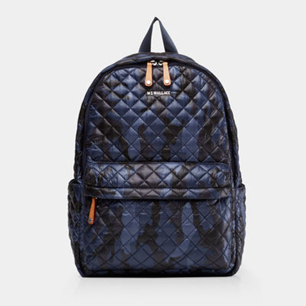 MZ Wallace Metro Backpack in Dark Blue Camo