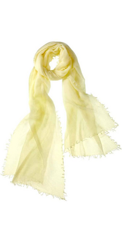 Alta Featherweight Cashmere Scarf in Champagne