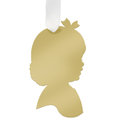 "Girl Child Ornament- ""Charlotte"""