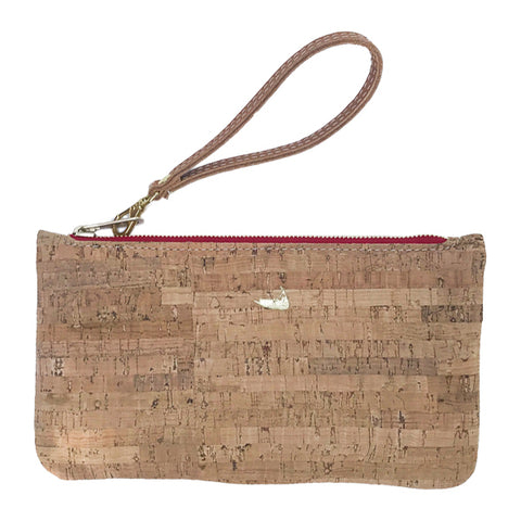 Nantucket Cork Wristlet by Nancy Jakubik