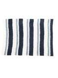 Barefoot Dreams Striped Personal Throw in White/Dusk