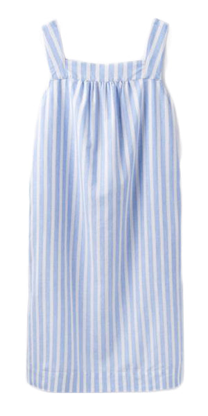 Darcie Dress in Blue/White Stripe by Joules