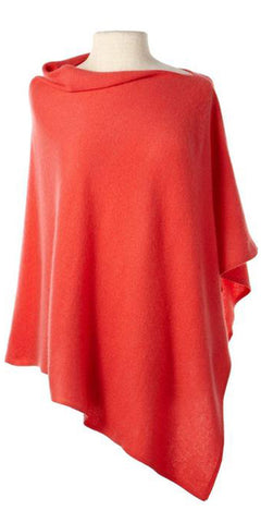 Cashmere Cape in Flame