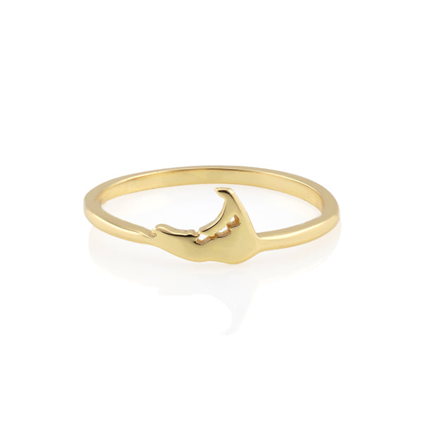 Nantucket Ring in Gold