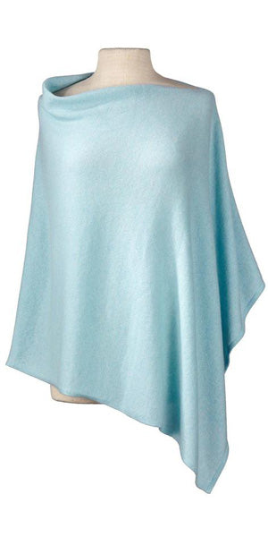 Cashmere Cape in Ice