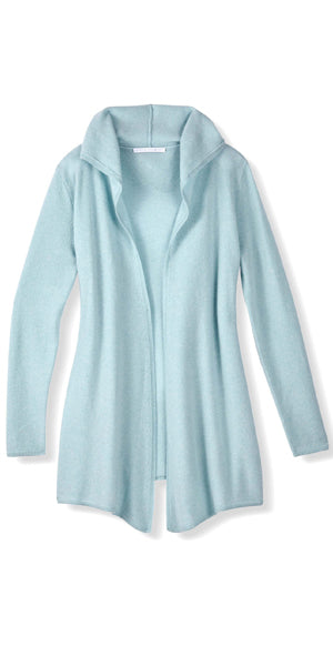 Cashmere Casual Hoodie in Ice