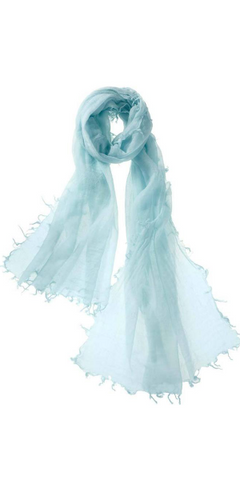 Alta Featherweight Cashmere Scarf in Ice