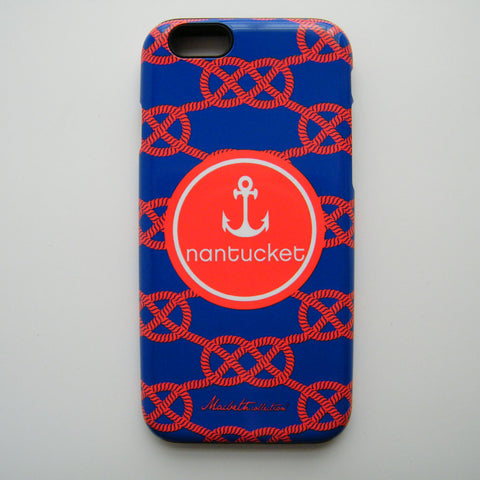 iPhone 6 Case - Nantucket Nautical Knots