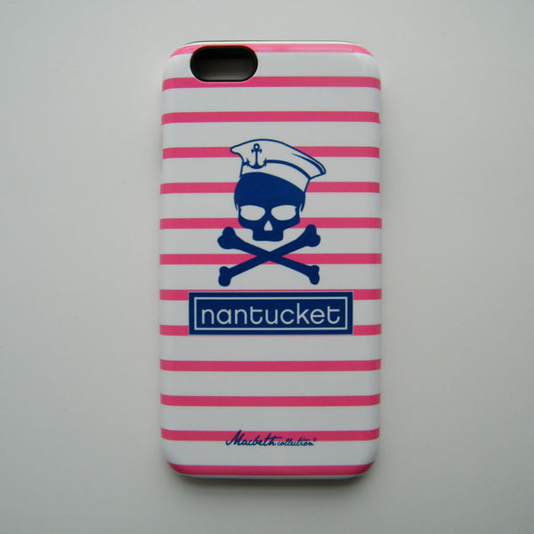 iPhone 6 Case - Pink Nantucket Pirate