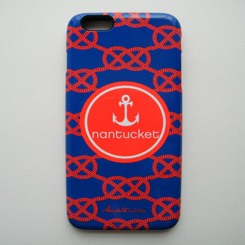 iPhone 6 Plus Case - Nantucket Nautical Knots