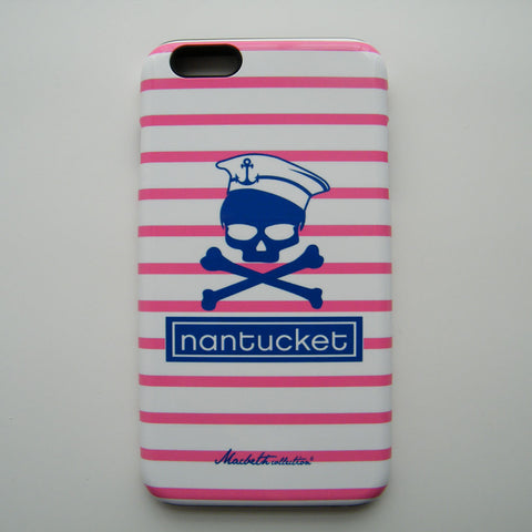 iPhone 6 Plus Case - Pink Nantucket Pirate
