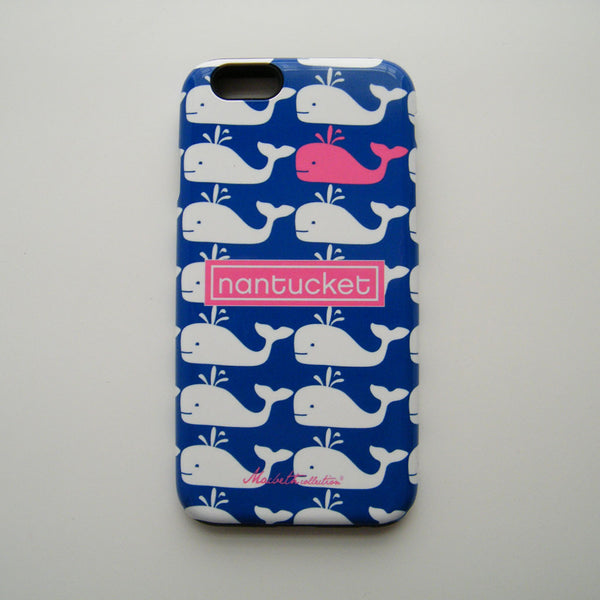 iPhone 6 Plus Case - Nantucket Whale Pink