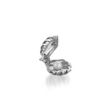 Clam Shell Charm in Sterling Silver by Jet Set Candy