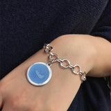 Nantucket Travel Charm Bracelet with Medium Charm