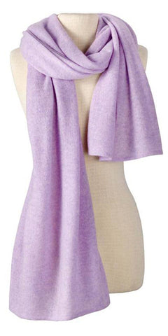 Cashmere Lightweight Travel Wrap in Lilac