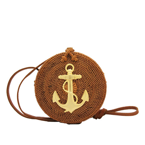 Lucy Canteen Crossbody with Anchor