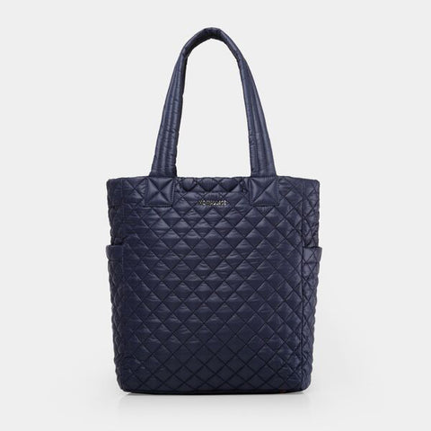 MZ Wallace Max Tote in Navy Dawn