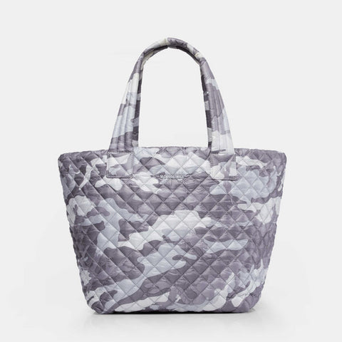 MZ Wallace Medium Metro Tote in Grey Camo