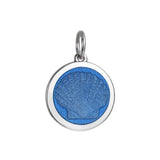 Medium Colby Davis Scallop Charm in French Blue