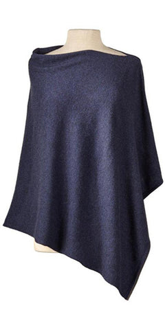 Cashmere Cape in Midnight