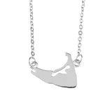 Solid Nantucket Necklace in Silver