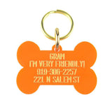 Personalized Acrylic Dog Tag