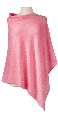 Cashmere Cape in Pink Mist
