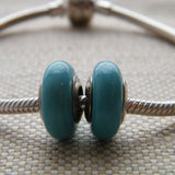 Powder Blue Glass Bead
