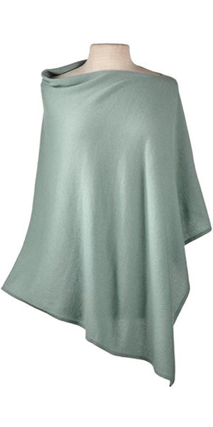 Cashmere Cape in Sage