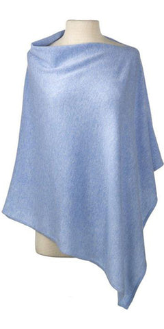 Cashmere Cape in Sky