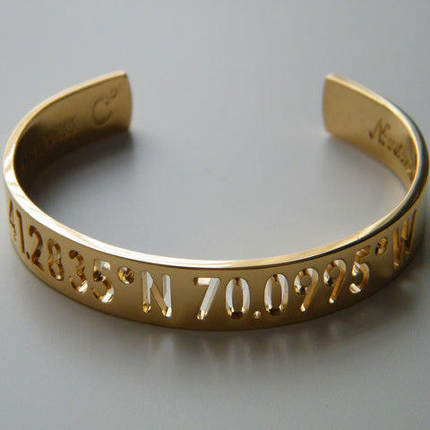 Nantucket Coordinates Collection Sky Bracelet