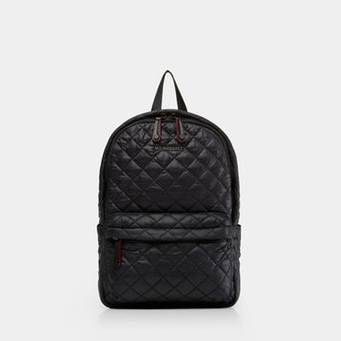 MZ Wallace Small Metro Backpack in Black