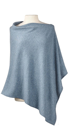 Cashmere Cape in Stonewash