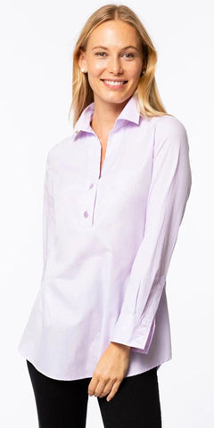 Teri Tunic Top in Pink Amethyst