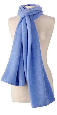 Cashmere Lightweight Travel Wrap in Wave