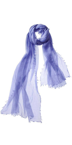 Alta Featherweight Cashmere Scarf in Wisteria