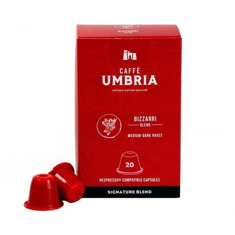 Bizzarri Blend Single Serve Espresso Capsules - (20 capsules)