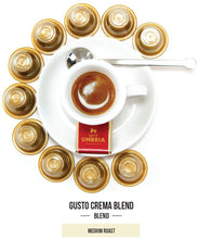 Load image into Gallery viewer, Gusto Crema Blend Nespresso Compatible Capsules