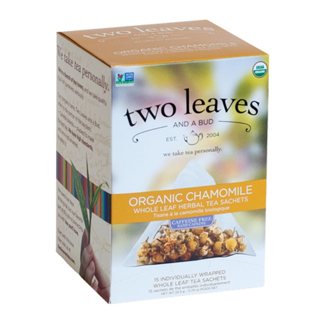 Two Leaves and a Bud Organic Chamomile