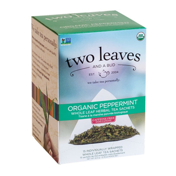 Two Leaves and a Bud Organic Peppermint