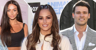 PoWr models TOWIE's Courtney Green and Love Island's Kady McDermott Love Triangle