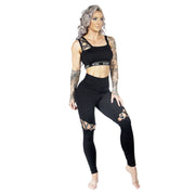 Mystique High Waist Leggings W0209