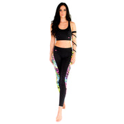 Rainbow Spider Back Crop Top W119
