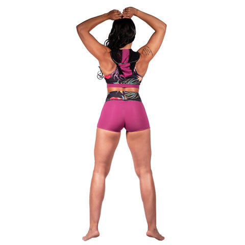 Coretta High Waist Compression Shorts W0216