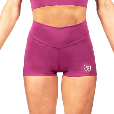 Warrior High Waist Compression Shorts W0223