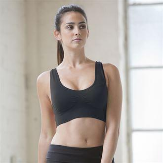 Sports Bra Crop Top with your Logo (minimum order 25)