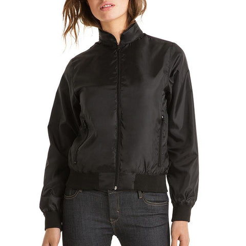 Unisex Satin Bomber Jacket with your logo (minimum order 25)