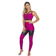 Infinity Eco High Waist Leggings W0231 (raspberry)