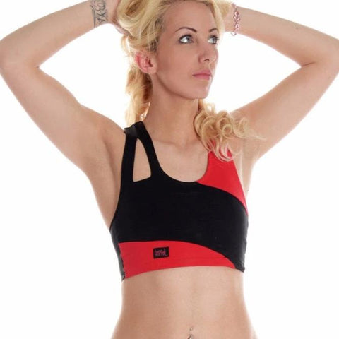 Asymmetric Crop Top with your logo (minimum order 25)